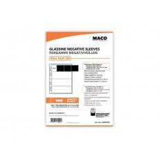MACO Negative Pages, Paper (glassine), 6 x 6 or 6 x 7cm, 100 sheets