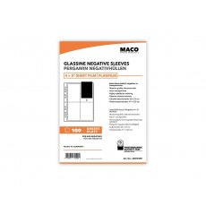 MACO Negative Pages, Paper (glassine), 4 x 5 inch, 100 sheets
