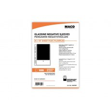 MACO Negative Pages, Paper (glassine), 8 x 10 inch, 100 sheets