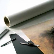 Hot Press Dry Mounting Tissue, 25.5 inches x 82 feet roll