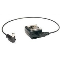 Kaiser Hot Shoe Adaptor with cable, 1301