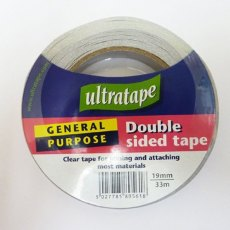 Ultratape Double-Sided Tape 19mm x 33m