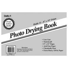 Delta Photo Blotter Drying Book