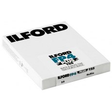 Ilford FP4 Plus 4 x 5in, ISO 125, Pack of 25
