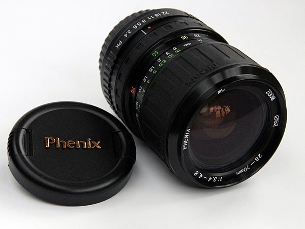 Phenix Phenix 28-70mm Pentax PKA, f/3.4 - 4.8