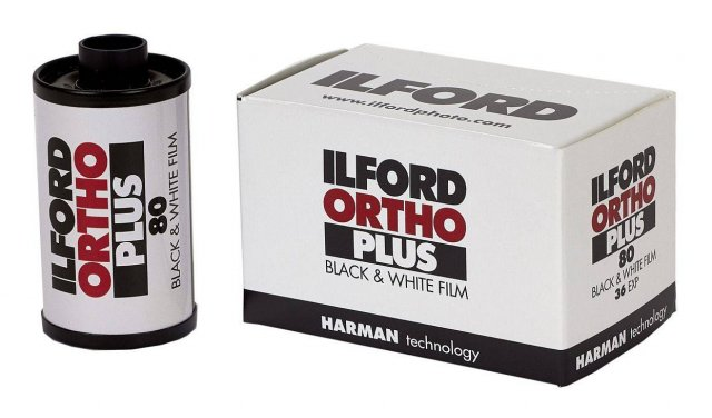 Ilford Ilford Ortho 80 Plus 135-36, ISO 80