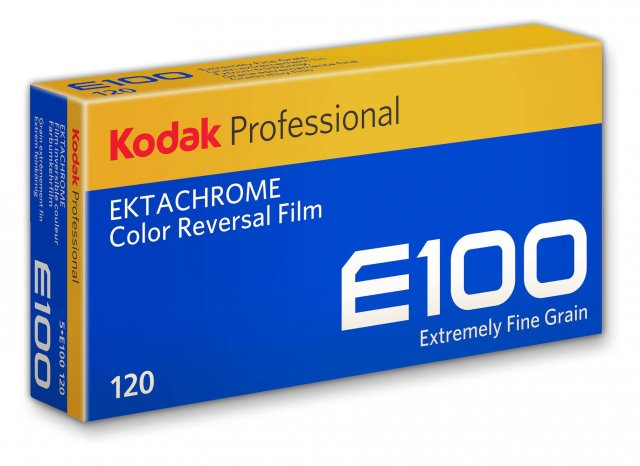 Kodak Kodak Ektachrome E100 120, ISO 100, Pack of 5