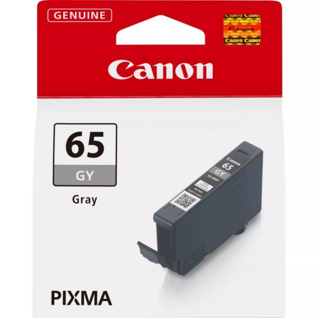 Canon Ink Jet Cartridge CLI-65 GY, Gray