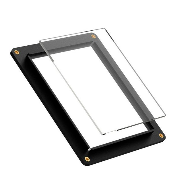 Negative Supply Negative Supply 4 x 5 Sheet Film Holder c/w 2 sheets ANR Glass