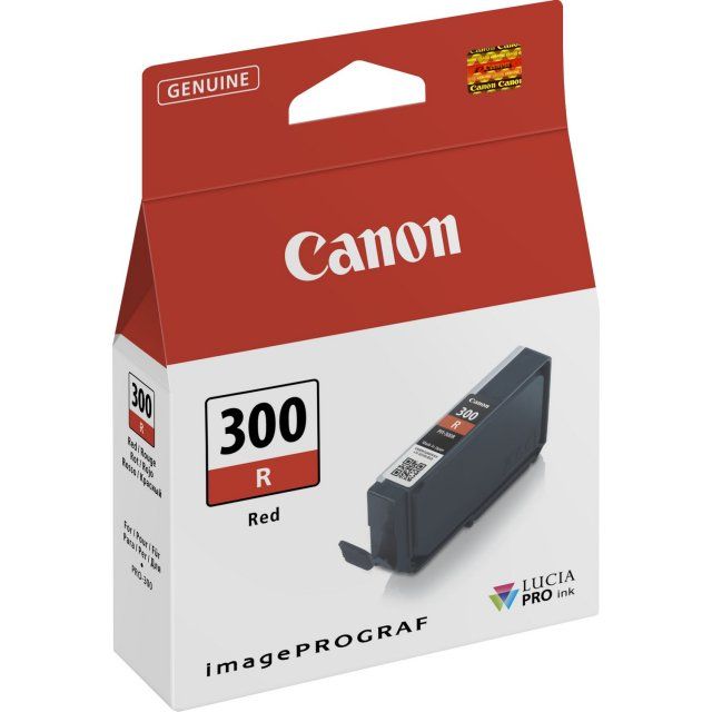 Canon Ink Jet Cartridge PFI-300 R, Red