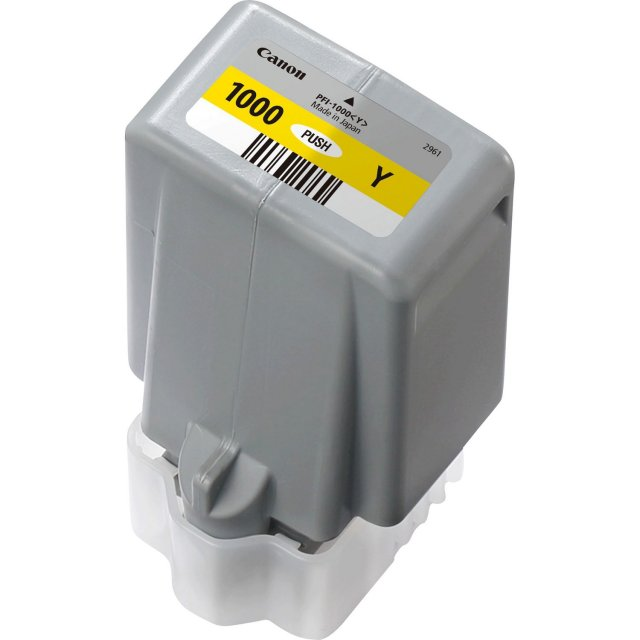 Canon Ink Jet Cartridge PFI-1000Y, Yellow