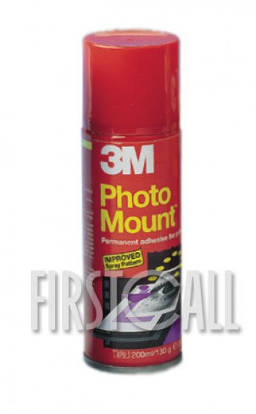Scotch Scotch Photomount Spray, 200ml, red can