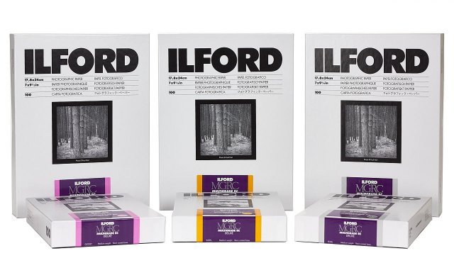 Ilford Ilford Multigrade RC Deluxe, Satin, 5 x 7in, Pack of 100