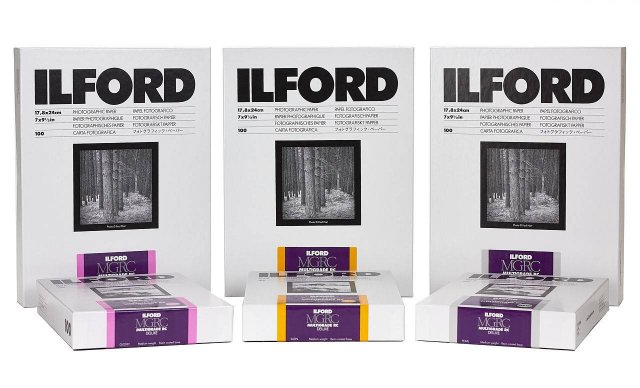 Ilford Ilford Multigrade RC Deluxe, Satin,9.5 x 12in, Pack of 50