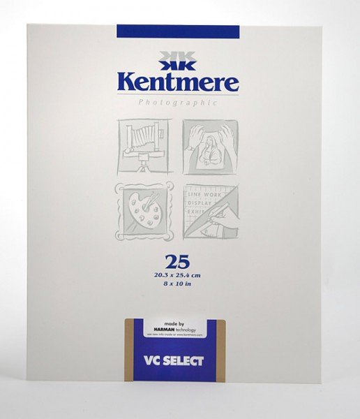 Kentmere Kentmere VC Select Glossy, 8 x 10in, Pack of 25