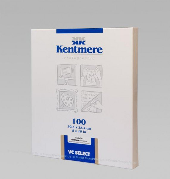 Kentmere Kentmere VC Select Fine Lustre, 8 x 10in, Pack of 100