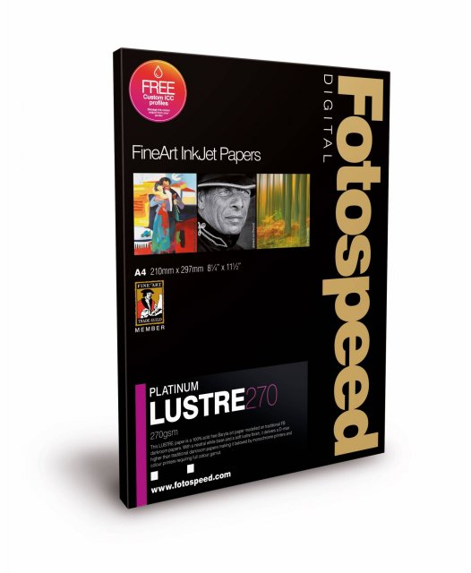 Fotospeed Fotospeed Platinum Lustre, EG, A4, Pack of 25