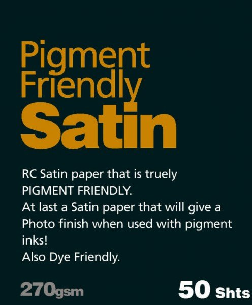 Fotospeed Fotospeed Pigment Friendly, Satin, A4, Pack of 500