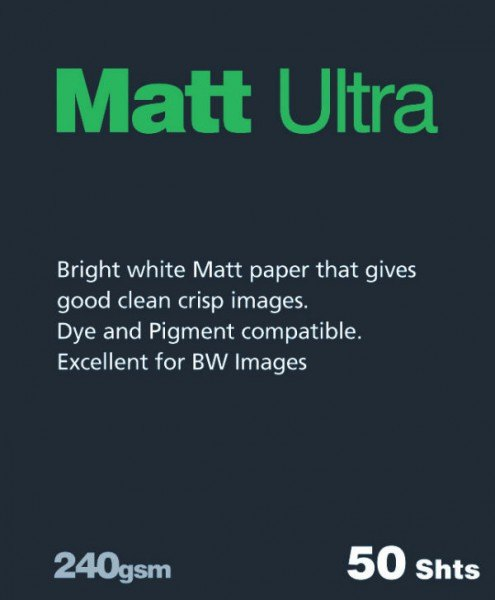 Fotospeed Fotospeed Matt Ultra, A4, Pack of 100
