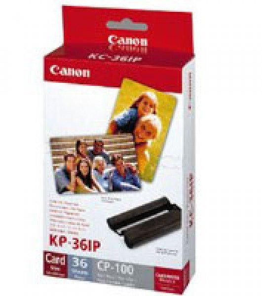 Canon Canon Selphy Dye Sublimation Ink and Paper KP-36IP