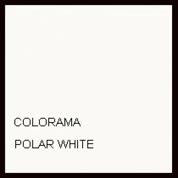 Colorama Colorama Background Paper Polar White 2.72 x 11m