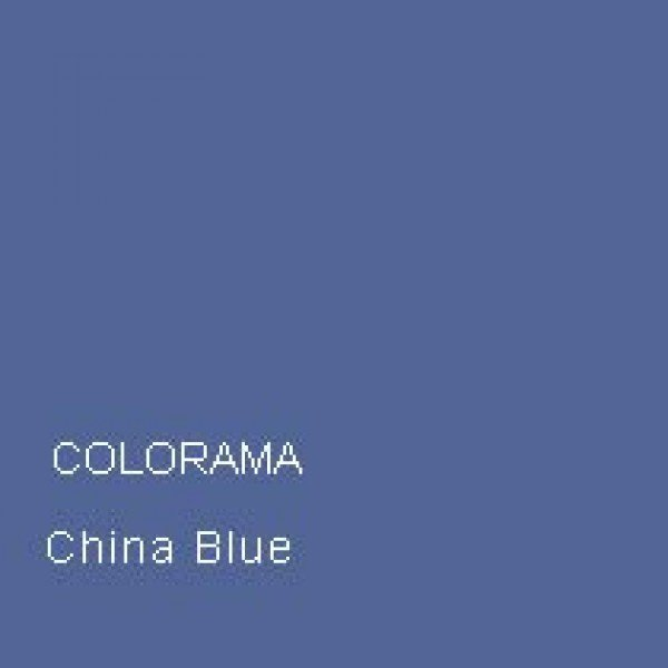 Colorama Colorama Background Paper China Blue 1.35 x 11m