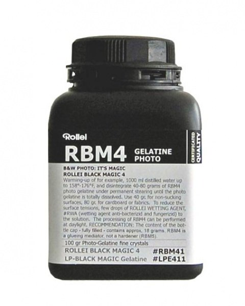 Rollei Rollei Black Magic RBM4 Photo Gelatine,100ml