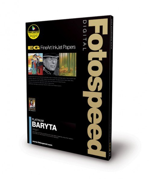 Fotospeed Fotospeed Platinum Baryta, A3+, 25 sheets