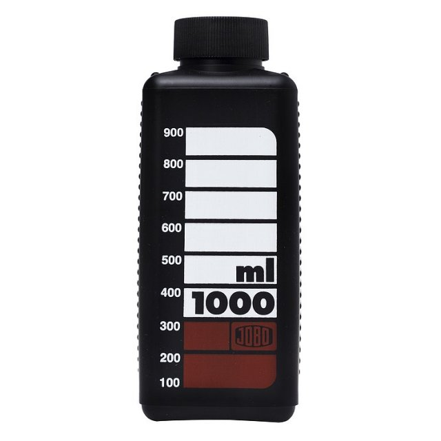 Jobo Jobo Chemical Storage Bottle Black, 1 litre, 3372B