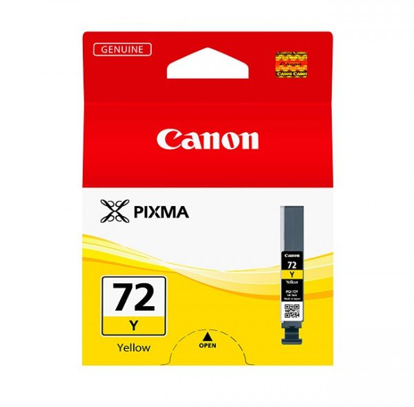 Canon Canon Ink Jet Cartridge PGI-72 Y, Yellow