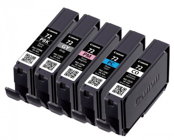 Canon Canon Ink Jet Cartridge PGI-72 PBK/GY/PM/PC/CO Multipack