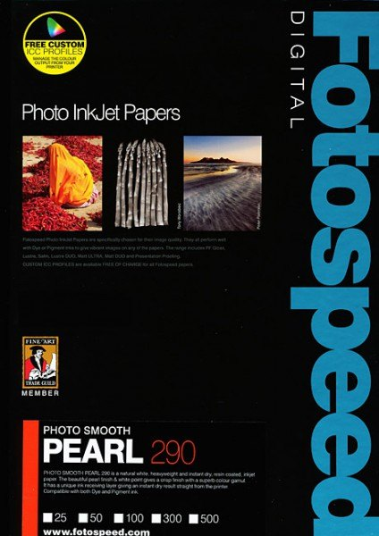 Fotospeed Fotospeed Photo Smooth Pearl 290gsm, 17in Roll, 30m