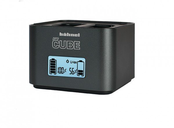 Hahnel Hahnel proCUBE 2 Twin D-SLR Charger, Canon