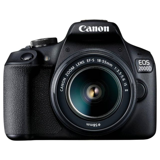 Canon Canon EOS 2000D Digital SLR Camera with 18-55mm IS II lens