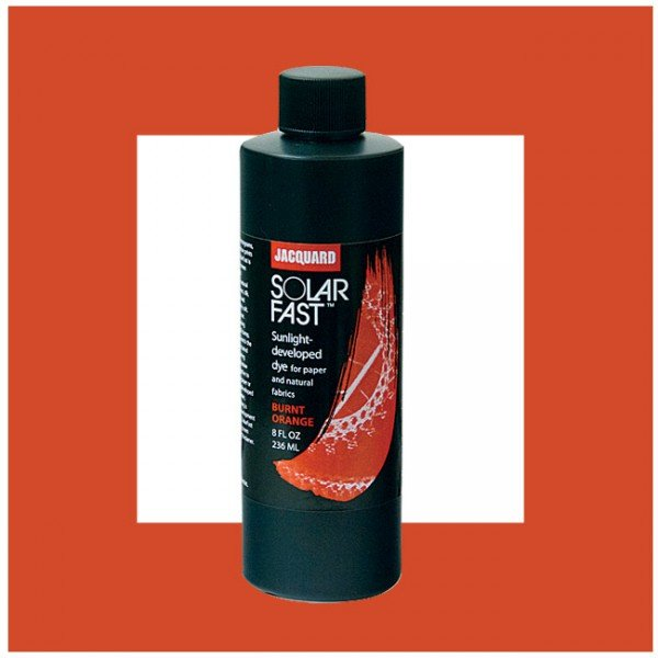 Jacquard Jacquard SolarFast 8 Fl Oz Dye No 102, Burnt Orange