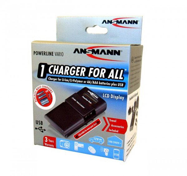 Ansmann Ansmann Powerline Vario Battery Charger