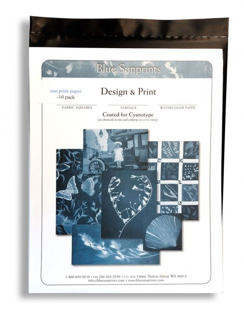 Firstcall Firstcall Cyanotype Printing-Out Paper, 5 x 7 inches, Pack of 10