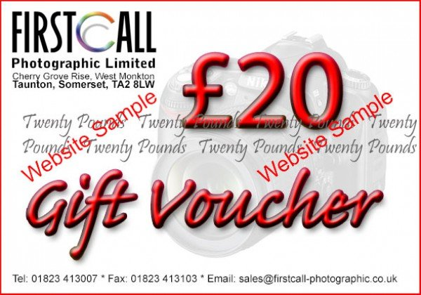 Firstcall Firstcall £20 Gift Voucher