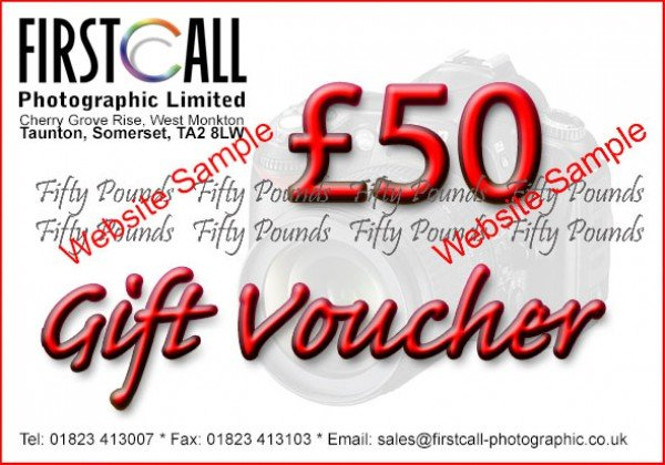 Firstcall Firstcall £50 Gift Voucher