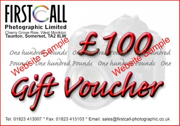 Firstcall Firstcall £100 Gift Voucher