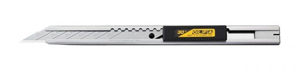 Olfa Olfa Slimline Stainless Steel 9mm Graphics Knife, SAC-1