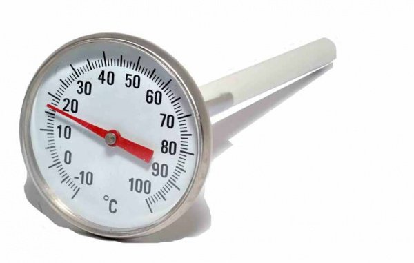 Kood Kood Thermometer, Dial with 5 inch probe & clip