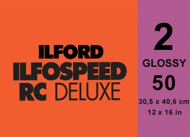 Ilford Ilford Ilfospeed Grade 2 Glossy, 12 x 16in, Pack of 50