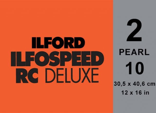 Ilford Ilford Ilfospeed Grade 2 Pearl, 12 x 16in, Pack of 10
