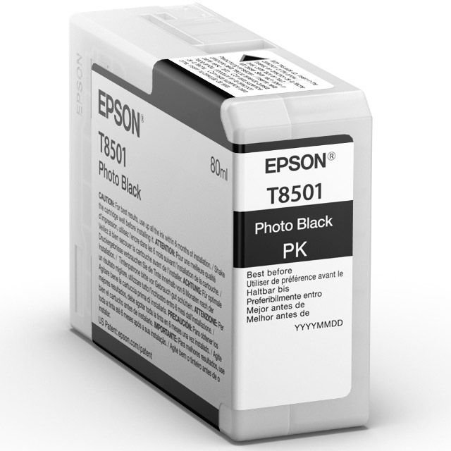 Epson Epson Ink Jet Cartridge T850100, 80ml, Photo Black