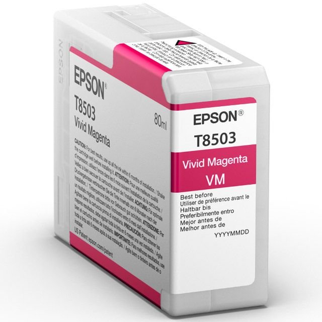Epson Epson Ink Jet Cartridge T850300, 80ml, Vivid Magenta