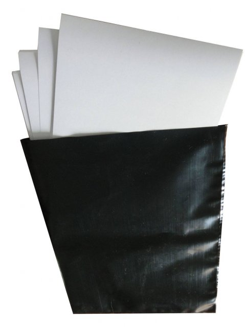 Firstcall Firstcall Black Photographic Bags, for 12 x 16 Paper, Pack 20