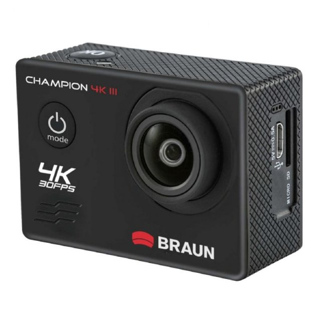 Braun Braun Champion 4K Action III Camera