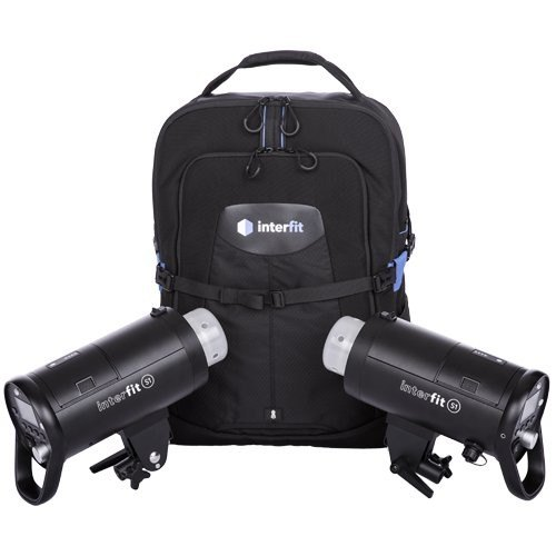 Interfit Interfit S1 On-Location Portable 2-Light Backpack Kit
