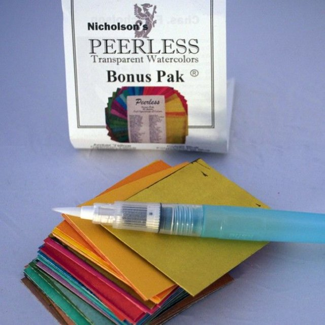 Peerless Peerless Water Color Bonus Pak - Dry Book